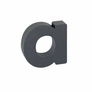 Hliníkové domovní písmeno a, 3D strukturovaný povrch