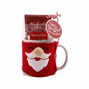 Hrnek ve svetru s Marshmallow 350 ml, Santa