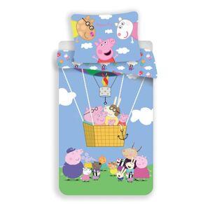 Jerry Fabrics Dětské bavlněné povlečení Peppa Pig 001, 140 x 200, 70 x 90 cm