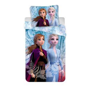 Jerry Fabrics Dětské povlečení Frozen 2 Blue micro, 140 x 200 cm, 70 x 90 cm