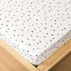 Trade Concept Jersey prostěradlo hvězdičky , 180 x 200 cm