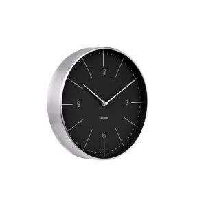 Karlsson 5682BK Designové nástěnné hodiny, 28 cm