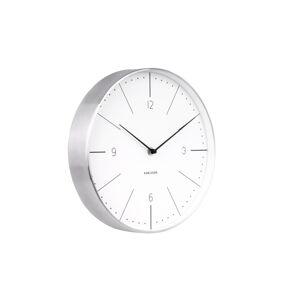 Karlsson 5682WH Designové nástěnné hodiny, 28 cm