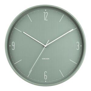 Karlsson 5735GR designové nástěnné hodiny, pr. 40 cm