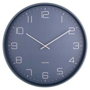 Karlsson 5751BL designové nástěnné hodiny, pr. 40 cm