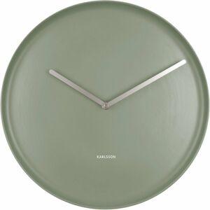 Karlsson 5786GR designové nástěnné hodiny, pr. 35 cm