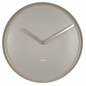 Karlsson 5786GY designové nástěnné hodiny, pr. 35 cm