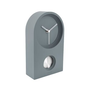 Karlsson KA5801GY Designové kyvadlové stolní hodiny, 25 cm