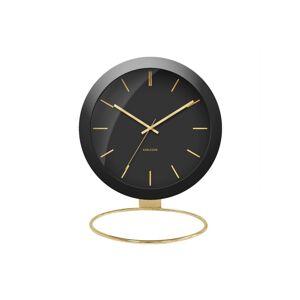 Karlsson KA5832BK Designové stolní hodiny, 25 cm