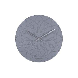 Karlsson KA5836GY Designové nástěnné hodiny, 35 cm