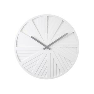 Karlsson KA5839WH Designové nástěnné hodiny, 40 cm