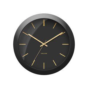 Karlsson KA5840BK Designové nástěnné hodiny, 40 cm
