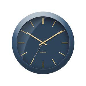 Karlsson KA5840BL Designové nástěnné hodiny, 40 cm