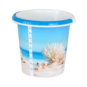 Kbelík s dekorem 10 litrů, moře