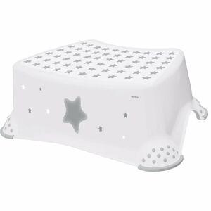 Keeeper Dětská stolička Stars bílá, 40,5 x 28,5 x 14 cm