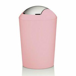Kela Odpadkový koš MARTA 5 l, růžová