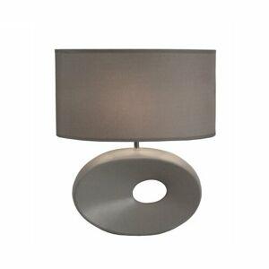 Keramická stolní lampa Qenny 11, šedá