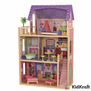 KidKraft Domeček pro panenky Kayla s příslušenstvím, 114 x 73 x 33,5 cm