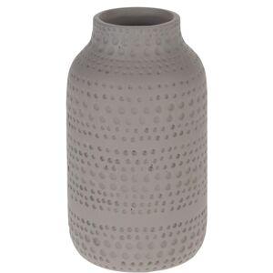Keramická váza Asuan hnědá, 19 cm