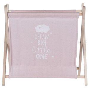 Koopman Úložný košík Child's dream růžová, 32 x 30 cm
