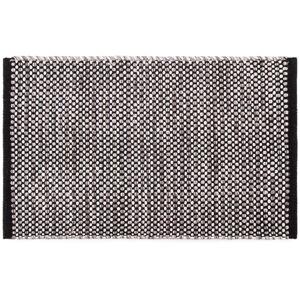 Kusový bavlněný koberec Elsa šedá, 50 x 80 cm