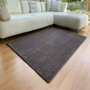 Kusový koberec Capri hnědá, 80 x 120 cm