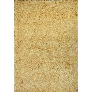 Spoltex Kusový koberec Efor Shaggy 2226 beige, 60 x 120 cm