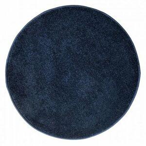 Vopi Kusový koberec Eton lux modrá, průměr 80 cm