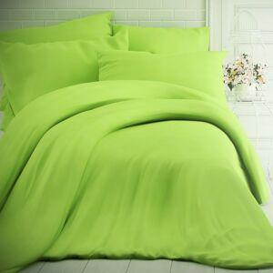 Kvalitex Bavlněné povlečení zelená, 140 x 200 cm, 70 x 90 cm
