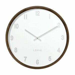 Lavvu LCT4061 dřevěné hodiny Fade, pr. 35 cm