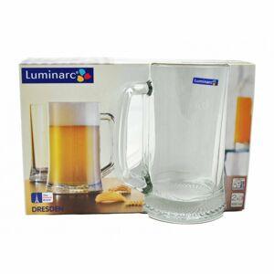 Luminarc 2dílná sada sklenic na pivo DRESDEN, 500 ml