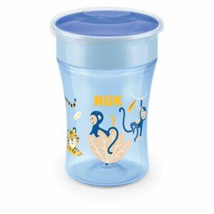 NUK hrnek Magic Cup s víčkem 230 ml, modrá