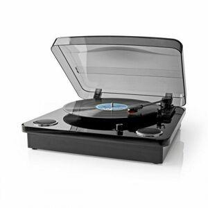 Nedis Gramofon 18 W, černá
