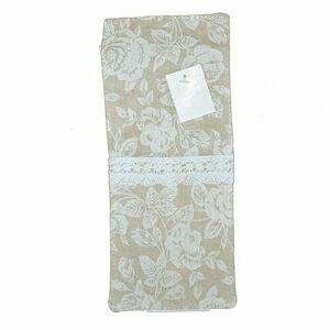 Obal na příbory White rose, 10 x 23 cm