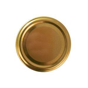 Orion 10dílná sada víček se závitem Gold, 8,5 cm