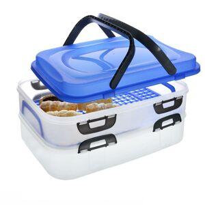Orion Přenosný box na potraviny 2 patra