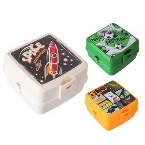 Orion Svačinový box dělený Hobby BOY
