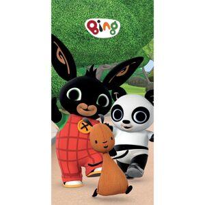 Osuška Zajíček Bing, Flop a Pando, 70 x 140 cm