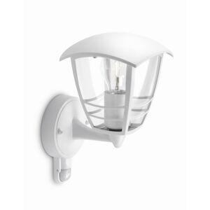 Philips 15388/31/16 Creek Venkovní nástěnné svítidlo s čidlem 28,5 cm, bílá