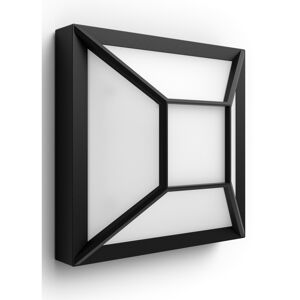 Philips 17393/30/P0 Drosera Venkovní nástěnné LED svítidlo 19 cm, černá
