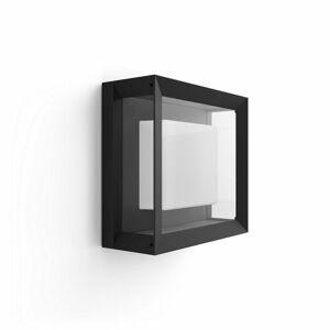 Philips Hue 17438/30/P7 venkovní LED svítidlo Econic, černá