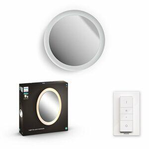 Philips Hue 34186/31/P6 nástěnné LED zrcadlo Adore 40 W, bílá
