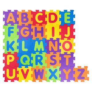 Plastica Pěnové puzzle Abeceda, 52 dílů