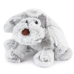 Plyšový pes šedá, 30 cm