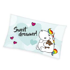 Polštářek Pummel Sweet dreamer!, 30 x 50 cm