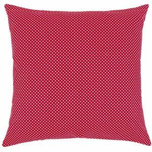 Polštářek Rita Puntík červená, 40 x 40 cm