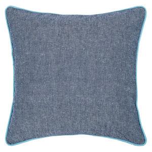 Povlak na polštář Heda modrá, 40 x 40 cm