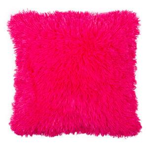 Povlak na polštářek Chlupáč Peluto Uni růžová, 40 x 40 cm