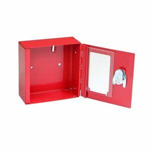 Požární ocelová skříňka se sklem TS.1010.G
