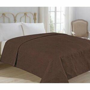 Přehoz na postel Royal hnědá, 220 x 240 cm
